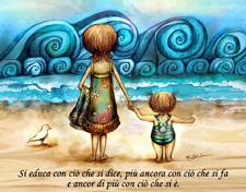 Dialogo Psicologico con i Figli e Autenticità